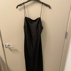 TOPSHOP Midi Silk Dress